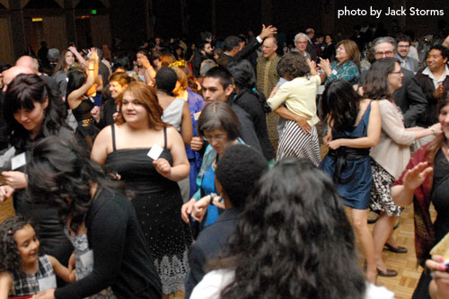 Dancing at the 2011 Annual Dinner