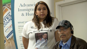 Martinez family testifies at a People's Hearing in Lynden, WA